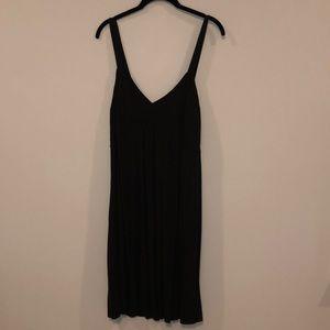 Limited rayon blend midi dress